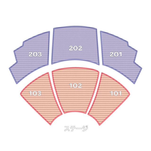 Ka カー 劇場 座席表