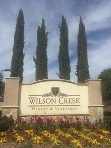 カリフォルニアワイン ウィルソンクリークワイナリー