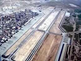 エアーツアー上空からの写真