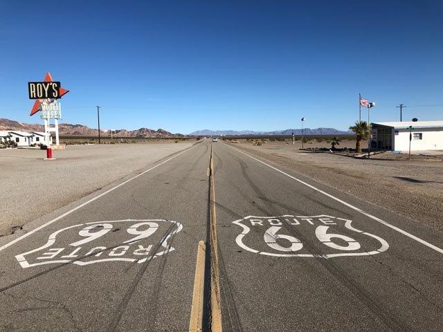 Route 66 サイン