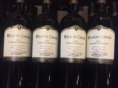 ウィルソンクリーク・ワイナリーのワイン各種