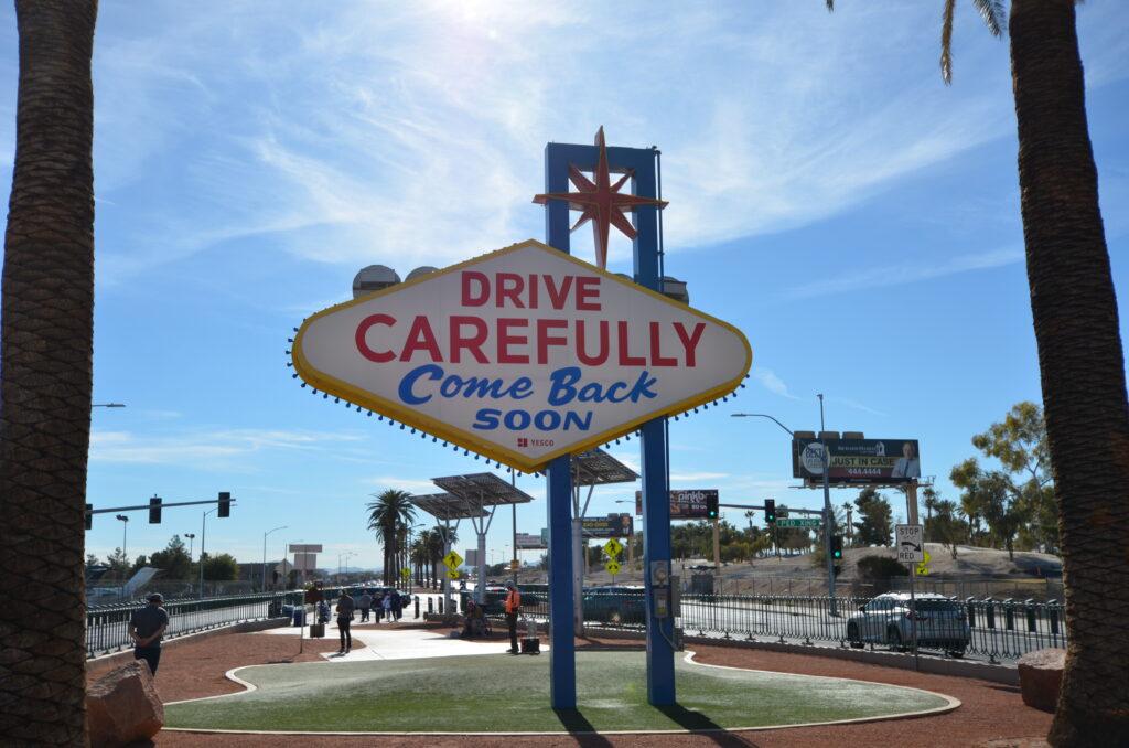 ラスベガスにまたお越しください
