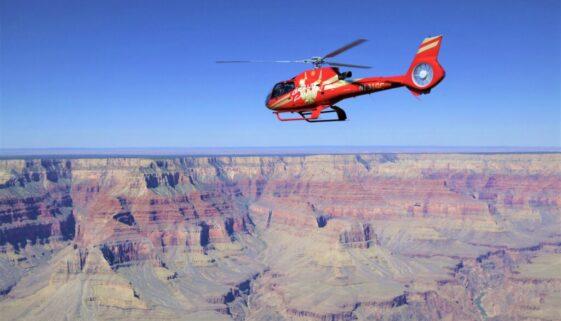 グランドキャニオン国立公園空港発 ヘリコプターエコスターツアー #134